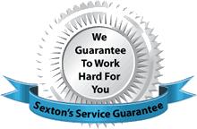 Sexton's Service Guarantee